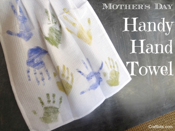 Mother's Day Craft: Handy Hand Towel