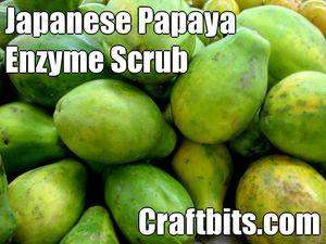 Japanese Papaya Enzyme Scrub