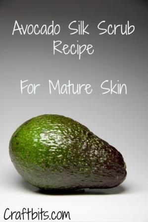 Avocado Silk Scrub