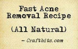 fast-acne-removal