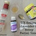 Honey & Lavender Toner
