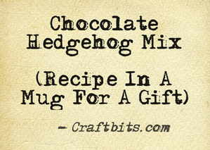 Chocolate Hedgehog Mix