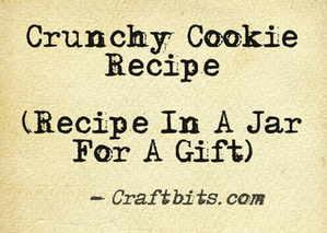 crunchy-cookie-recipe