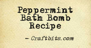 Bath Bomb – Peppermint
