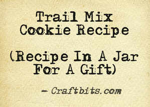 Trail Mix Cookie Mix