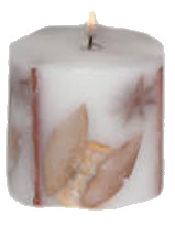Rustic Autumn Candle