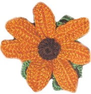 Crochet Flower – Marigold