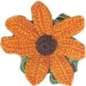 Crochet-flower-marigold