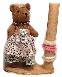 Teddy Hair Band Holder