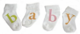 baby sock craft