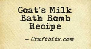 Bath Bomb – Goats Milk