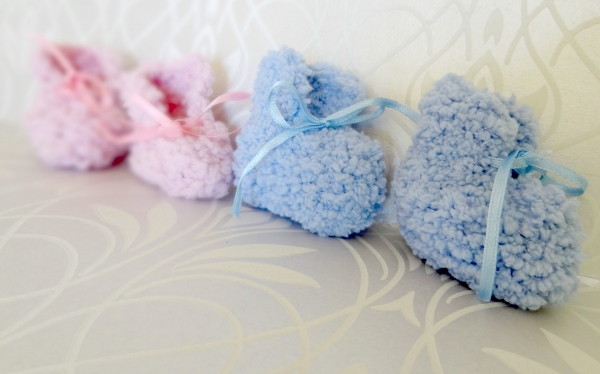 Can't Fail Pattern: Easy Baby Booties
