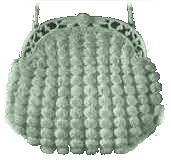 Clam Shell Crochet Purse
