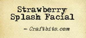 Strawberry Splash Facial