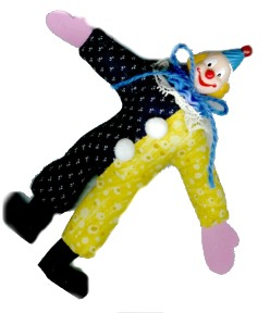 Crazy Clown Doll