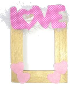 Valentine's Day Sticker Frames