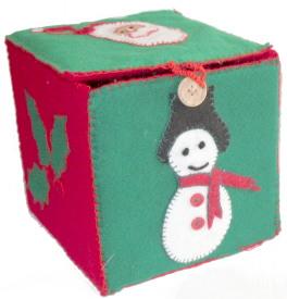 Christmas Felt Box