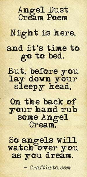 angel-cream-poem