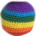 Crochet A Easy Hacky Sack Foot Bag