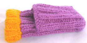 Knitted iPod Cover