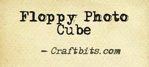 Floppy Photo Cube