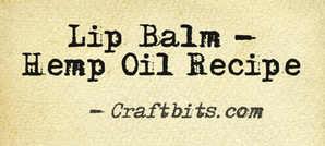Lip Balm – Hemp Oil