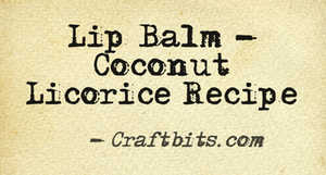 coconut licorice recipe