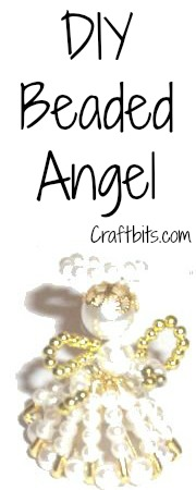safety pin angel instructions