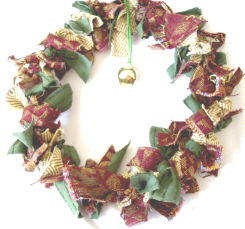 Wreath: Fabric Swatch
