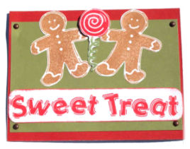 Christmas Card Idea: Sweet Treats