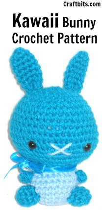 Amigurumi Crochet Pattern: Kawaii Bunny craftbits.com