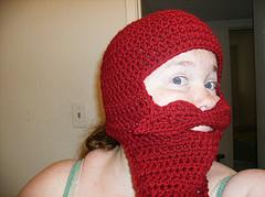 Mustache Costume Hat: Crochet Pattern