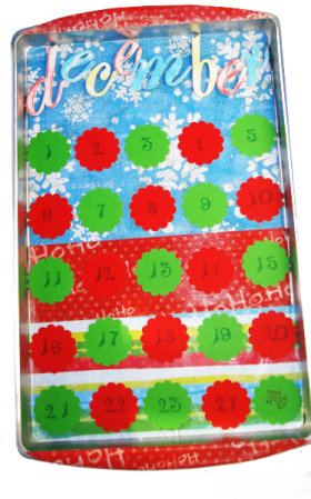 Magnetic Advent Calendar With Numbers