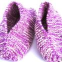 Knitted Slippers – Grandma's Quick Time