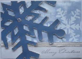 Christmas Card: Giant Snowflake