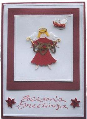 Christmas Card Idea: Joy Angel
