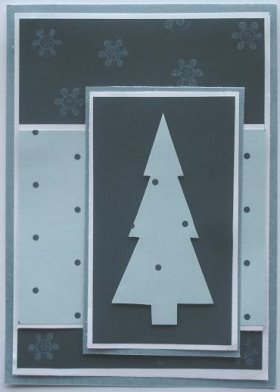 DIY Christmas Card: Polka Dot Tree