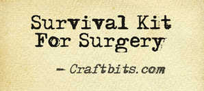surgery survival kit