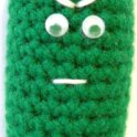 Mr Sour Pickle Man: Crochet Amigurumi