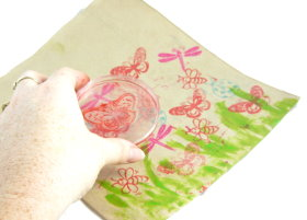 stamping packets