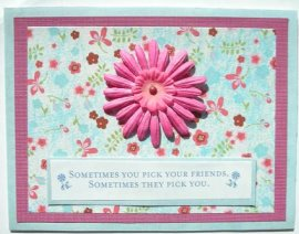 Cardmaking – Flower Friends