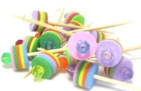 beaded-cupcake-food-picks