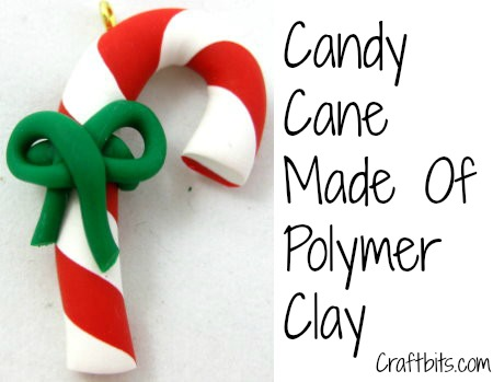 Polymer Clay Candy Canes