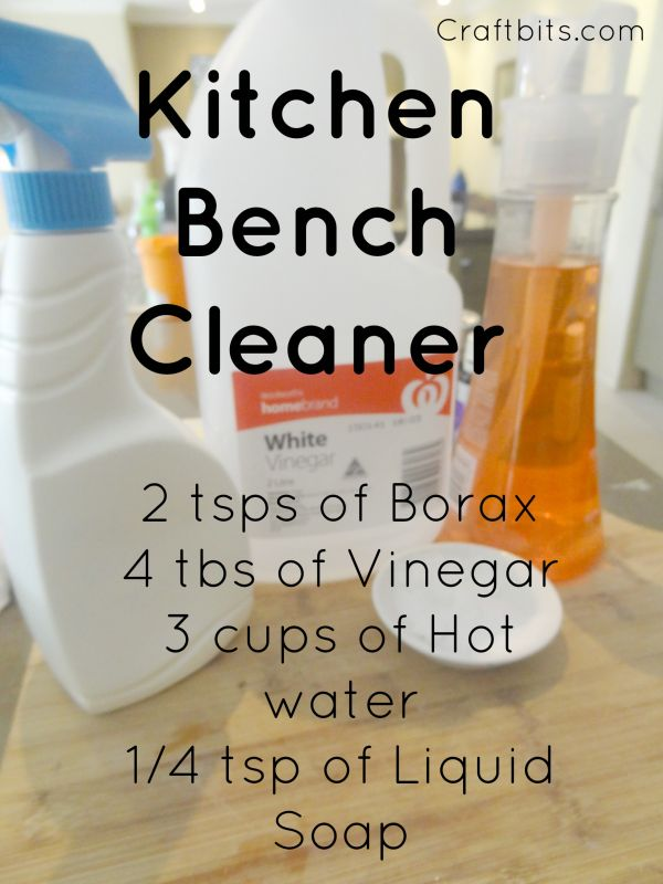 Kitchen Bench Cleaner
