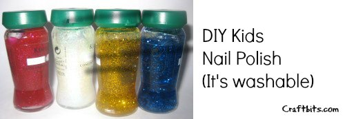 Washable Kids Nailpolish