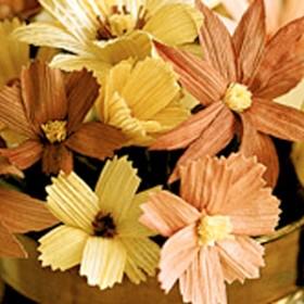 Cornhusk Flowers