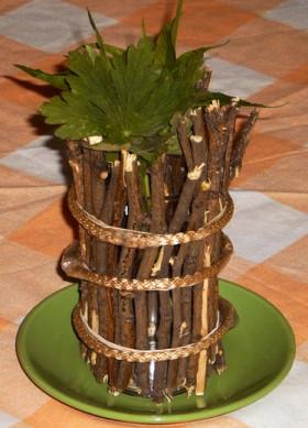 Natural Twig Vase