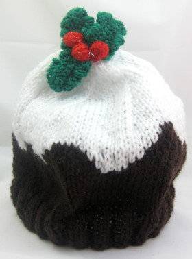 Child's Hat – Christmas Pudding Beanie