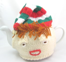 Elf Hat Tea Pot Cover