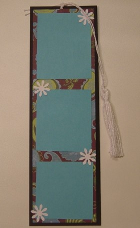 Scrapbook Bookmark